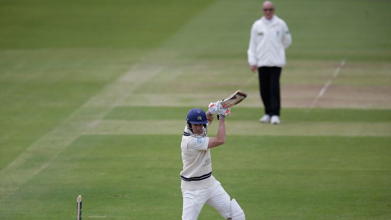 Neil Dexter: Hit a fine 163 not out to put Middlesex in complete control