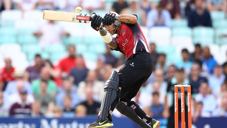 Peter Trego: Struck a 48-ball 76 for Somerset and took vital wickets to edge out Hampshire