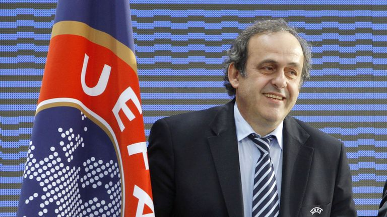 UEFA president Michel Platini will not run against Sepp Blatter for the FIFA presidency