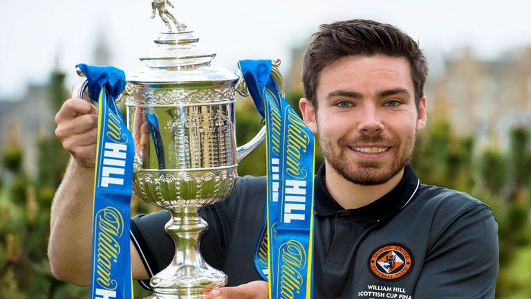 Ryan Dow: Has signed a new deal ahead of Scottish Cup final