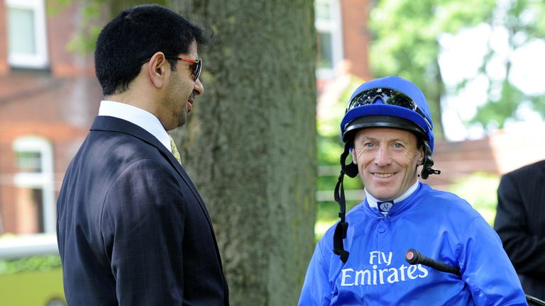 The Godolphin team are fancied to strike on Tuesday