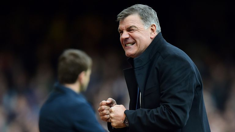 Sam Allardyce: Still at the helm at Upton Park