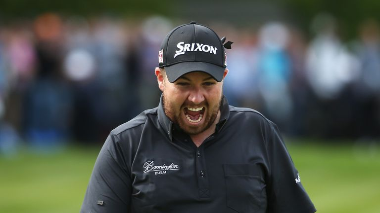 Shane Lowry: Finished out in front at the end of 36 holes on eight under par