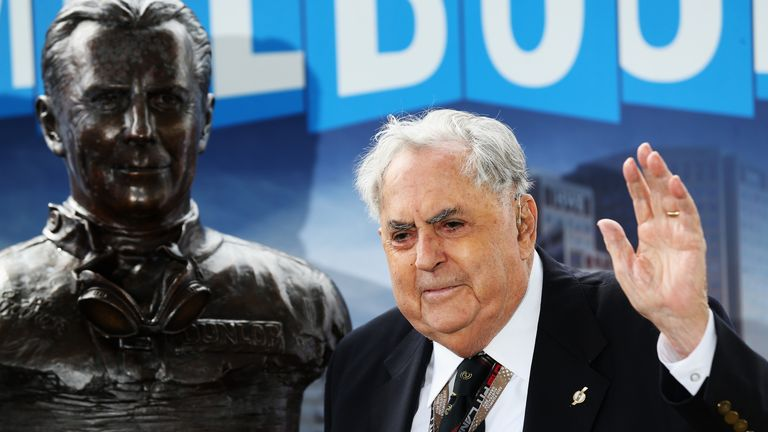Sir Jack Brabham won three World Championships
