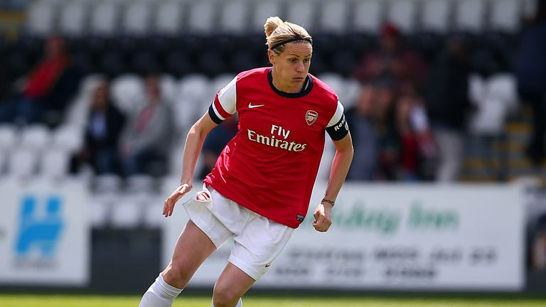 Gemma Davison: Says Liverpool must keep an eye on Kelly Smith (above)