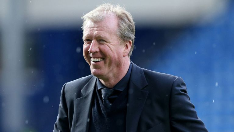 Steve McClaren: Believes the future is bright at Derby