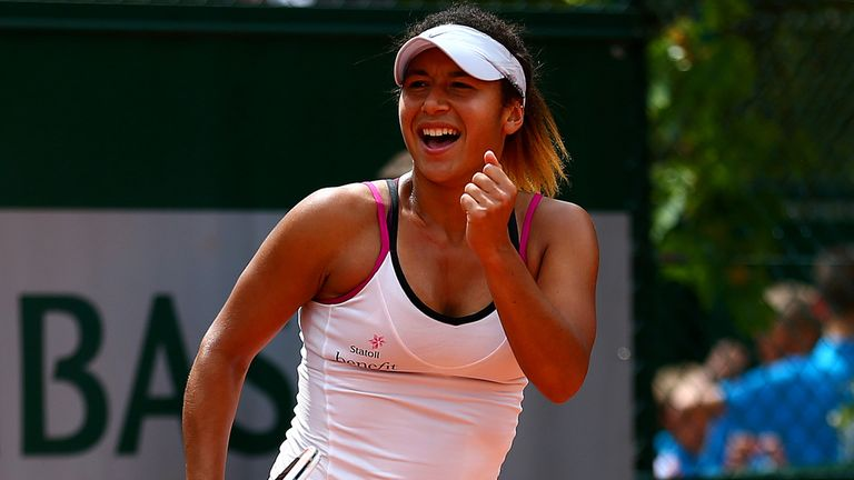 Heather Watson: Back in the world top 100