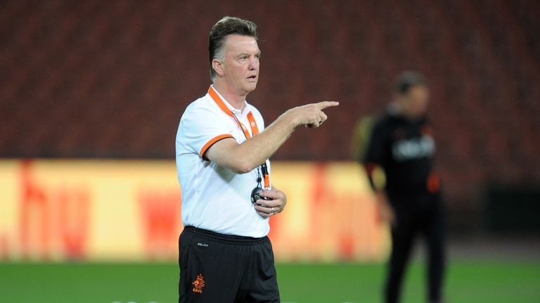 Louis van Gaal: Big ambitions