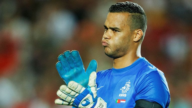 Michel Vorm: Hoping to be Holland's number one at the 2014 World Cup