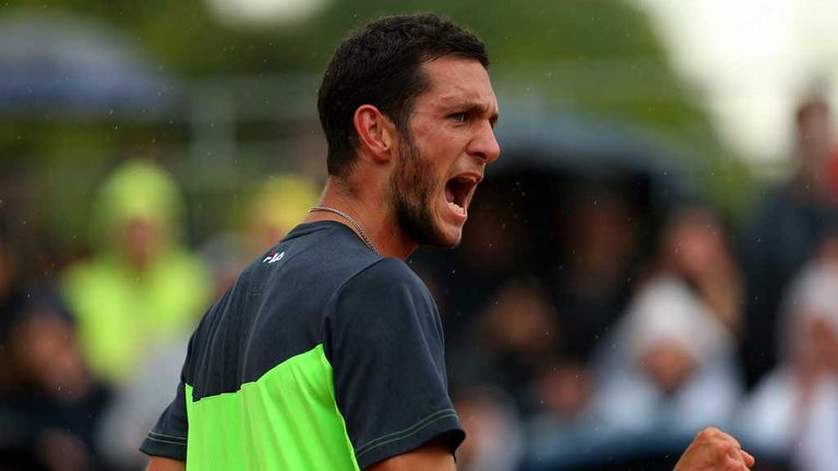 James Ward: Briton wants to reach top 100 in world rankings