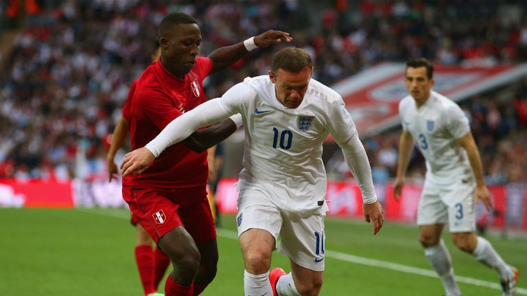 Wayne Rooney failed to make an impression against Peru at Wembley