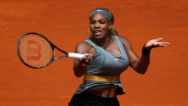 Serena Williams: Aiming for her third French Open title
