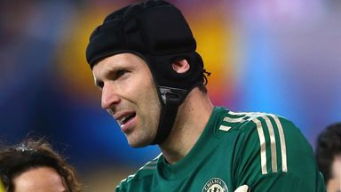Petr Cech: Place is under threat from Thibaut Courtois