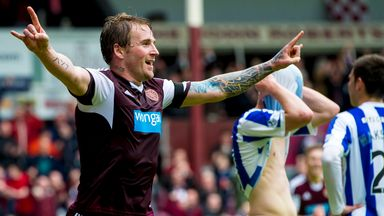 Ryan Stevenson: Former Hearts midfielder has joined Partick Thistle