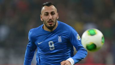 Kostas Mitroglou: Named in Greece's World Cup squad