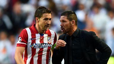 Gabi: Atletico Madrid captain has signed until 2017