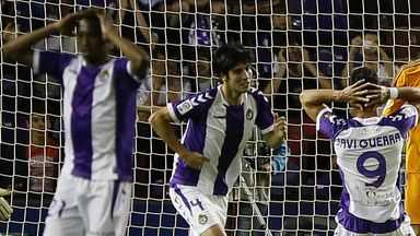 Real Valladolid: Relegated after 1-0 loss to Granada