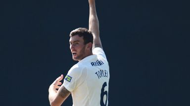 Reece Topley has become an important member of the Essex team
