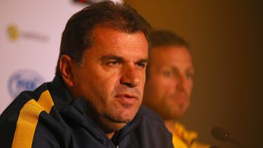Ange Postecoglou: Happy with the balance of his squad