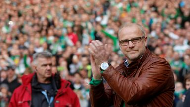 Thomas Schaaf: Praised by the club's president