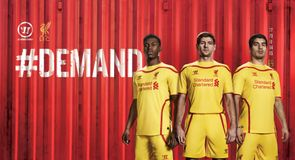 New Liverpool Warrior away kit
