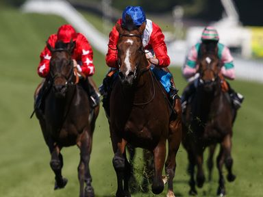 Russian Realm leads Magic City and Mabait at Goodwood