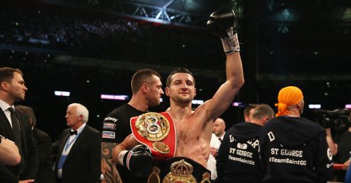 Froch halts Groves at Wembley