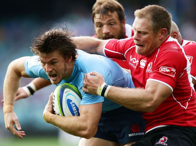 Rob Horne: Scored two tries for the Waratahs