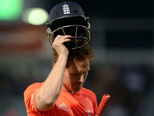 Eoin Morgan: Left to rue a missed opportunity