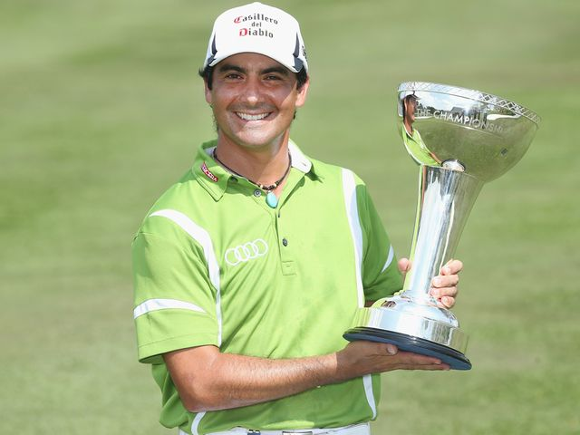 Felipe Aguilar: Hit an eagle on the last to win the title