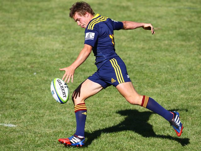 Hayden Parker: Kicked all 18 points for the Highlanders