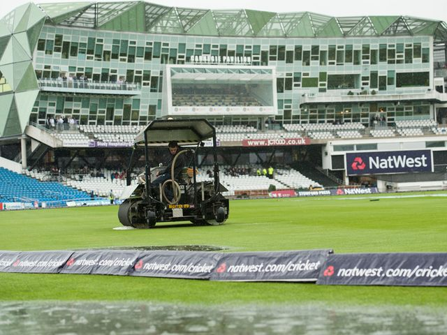 There was no chance of play at Headingley