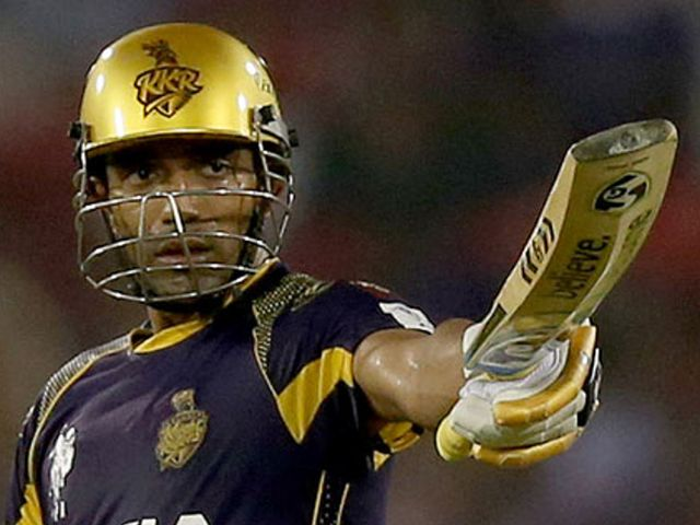 Robin Uthappa: Kolkata opener hit his fifth half-century of the IPL