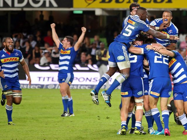 The Stormers celebrate