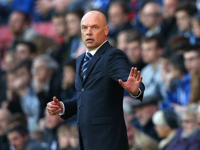 Rosler: Watched Peeters celebrate in front of him after Charlton's late winner