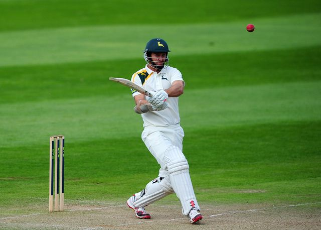 Phil Jaques of Nottinghamshire made a century against Somerset