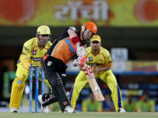 David Warner: Made 90 as the Sunrisers chased down their target