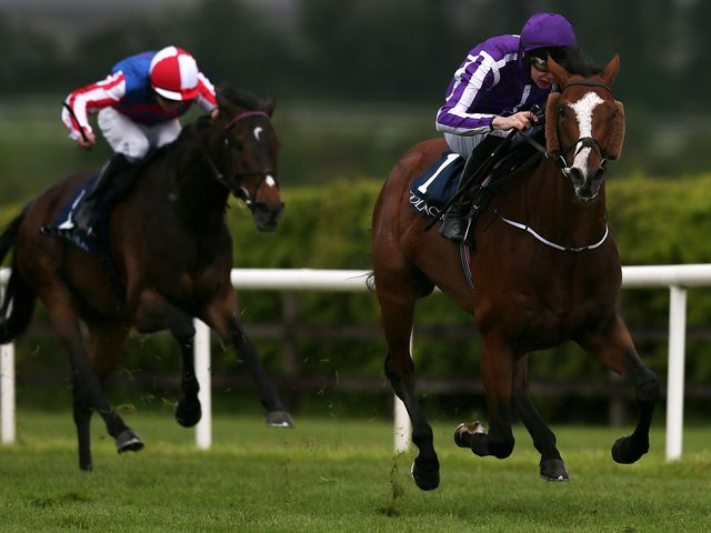 Leading Light beats Royal Diamond in the Coolmore Vintage Crop Stakes