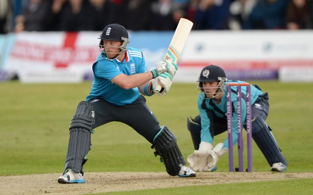 Ian Bell made 50 in England's victory over Scotland