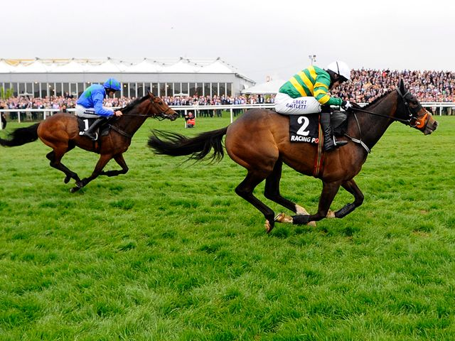 Jezki again has the legs of Hurricane Fly at Punchestown