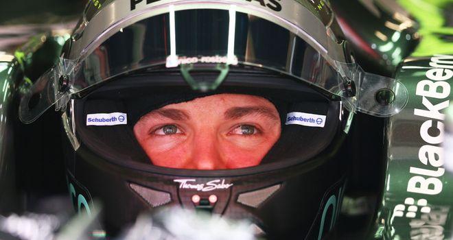 Nico Rosberg: Fastest in P3