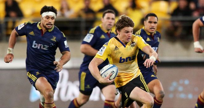 Beauden Barrett: Has signed a two-year deal at the Hurricanes