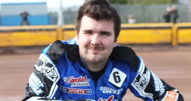 Lee Smart: Axed by Poole Pirates (picture by speedwayprint.com)