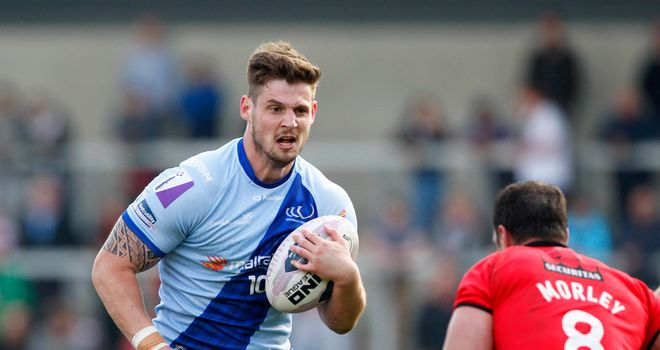 Ben Kavanagh: Signs a new two-year contract with Widnes Vikings