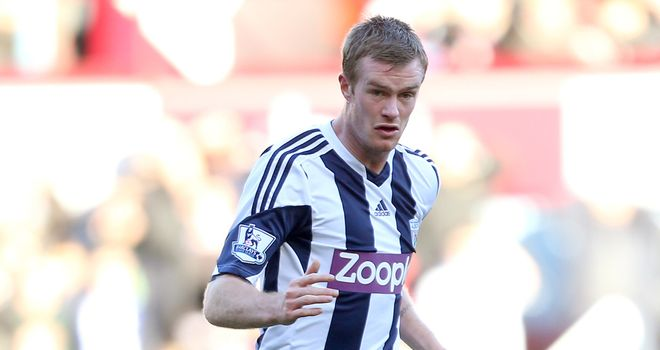Chris Brunt: West Brom captain has signed a new three-year deal