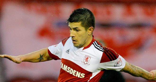 Emmanuel Ledesma: Bagged a brace for Boro