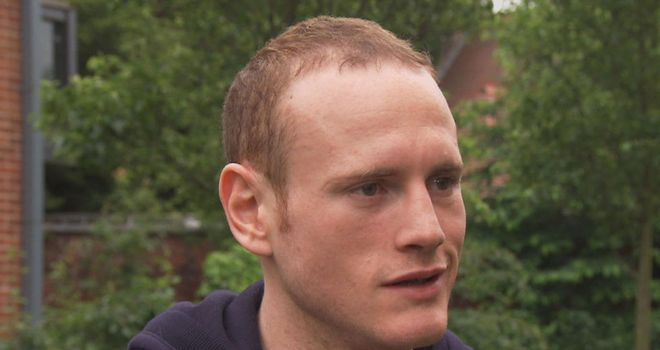 George Groves: Spent the eve of the fight at home in west London