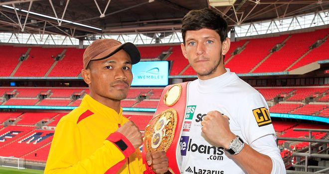 Jamie McDonnell (r): Relishing big stage (photo by Lawrence Lustig)