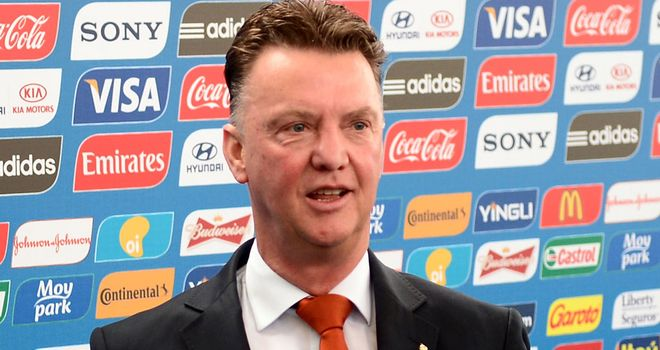 Louis van Gaal: Never doubted his side would beat Australia