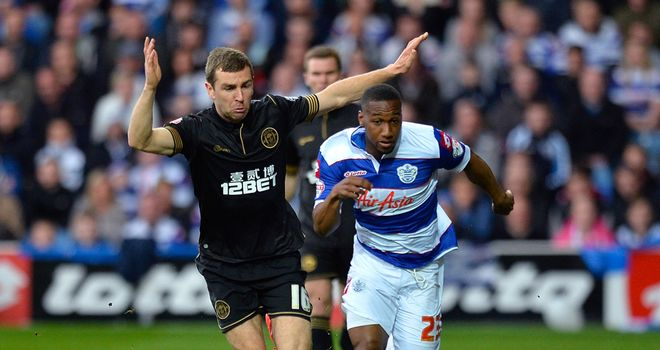 Junior Hoilett: Won the penalty to get QPR back into the game